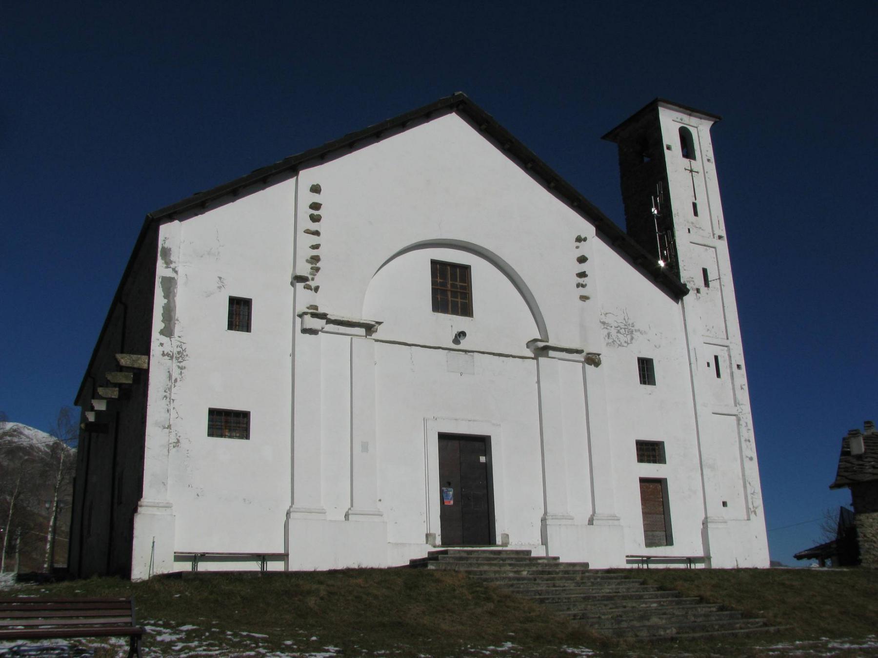 Facciata Santuario di Sant'Elisabetta