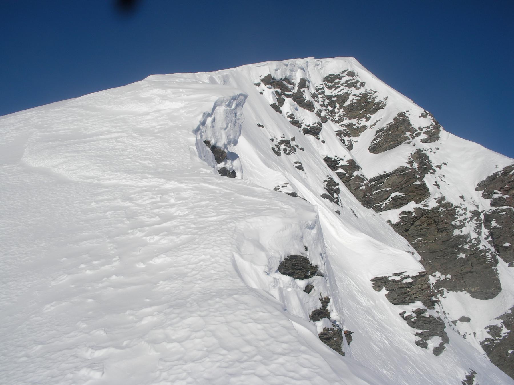 primo tratto di cresta verso il M.Cappello..