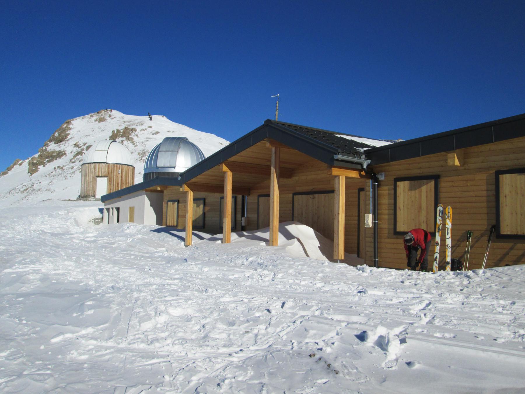 l'osservatorio sotto il Pic de Chateau Renard