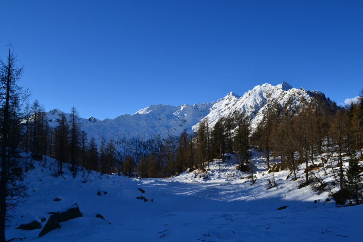 la bellissima conca di Campo Aostano