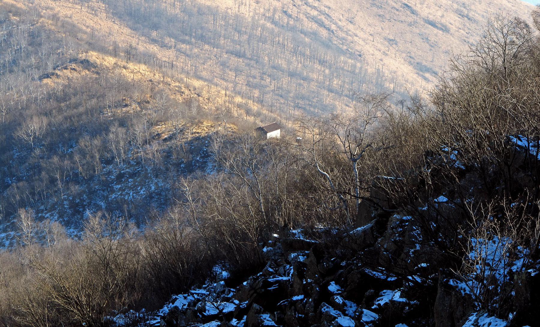 La Madonna della Neve vista dal M. Lera