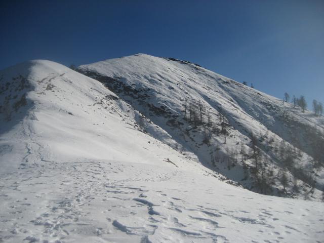 monte Ziccher dalla bocchetta di Sant'Antonio