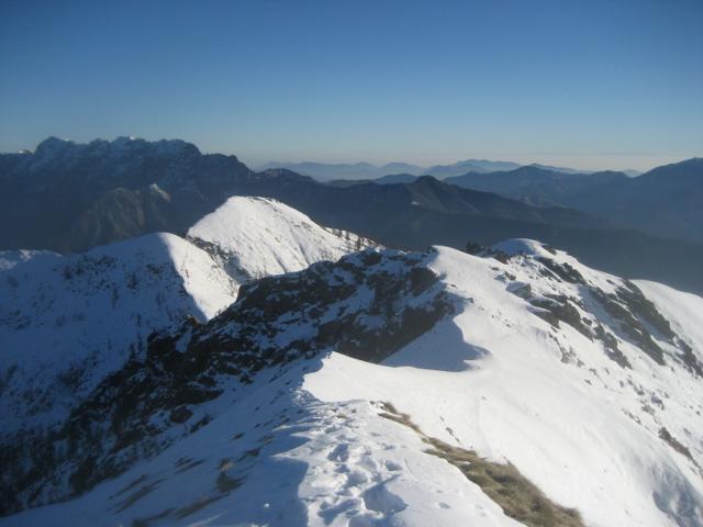 vista del monte Ziccher dal Formalone