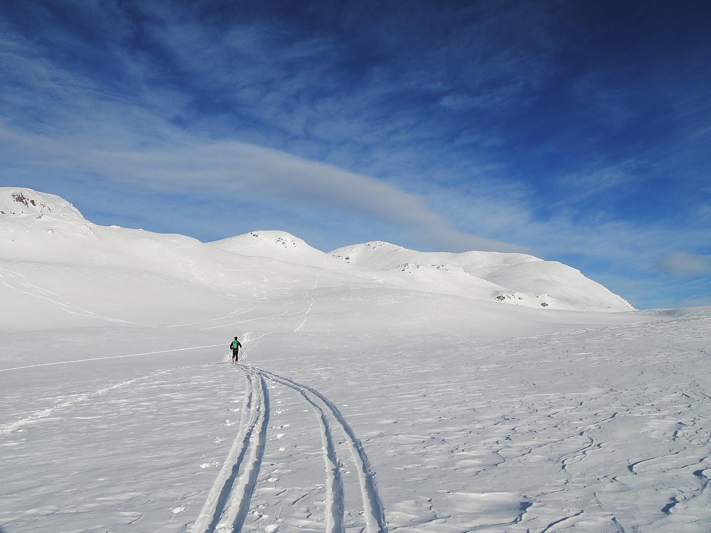 Verso l'Ärezhorn