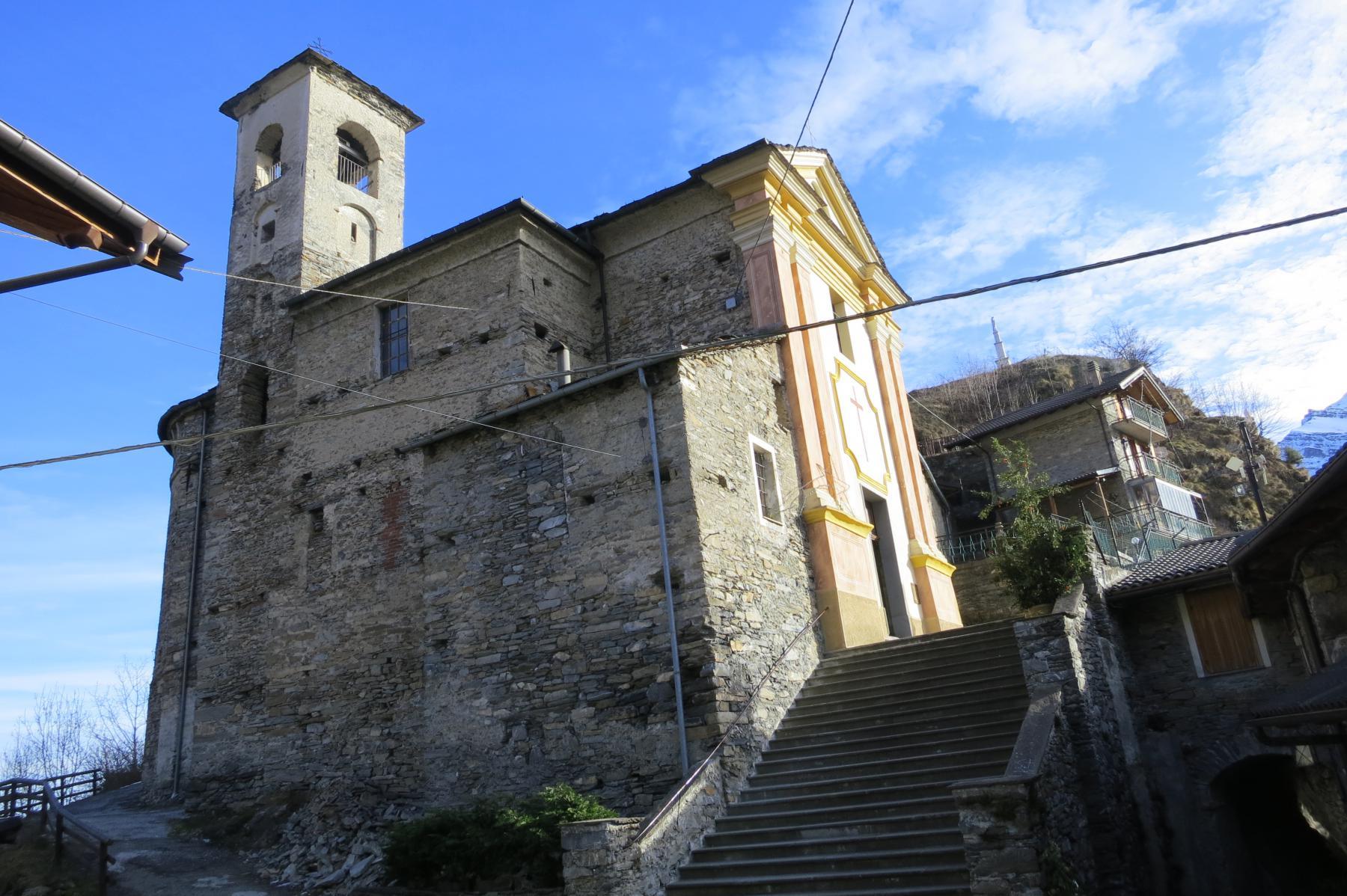 la chiesa di Colletto