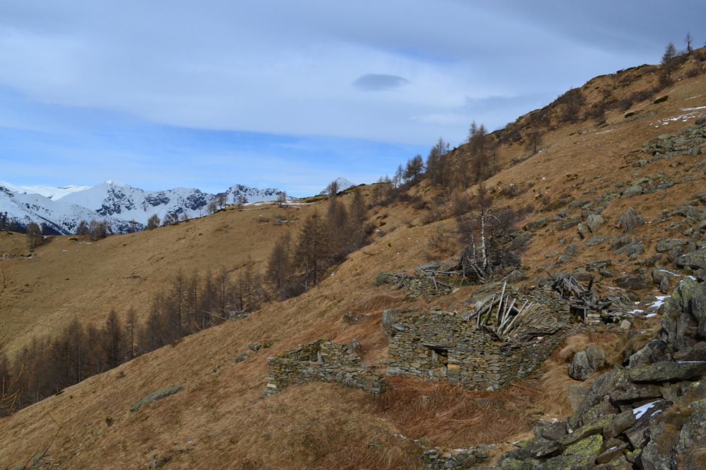 l'abbandonata Alpe Barzasca