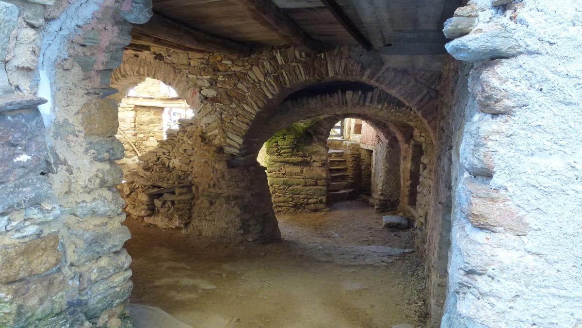 portici medievali a Chiapinetto