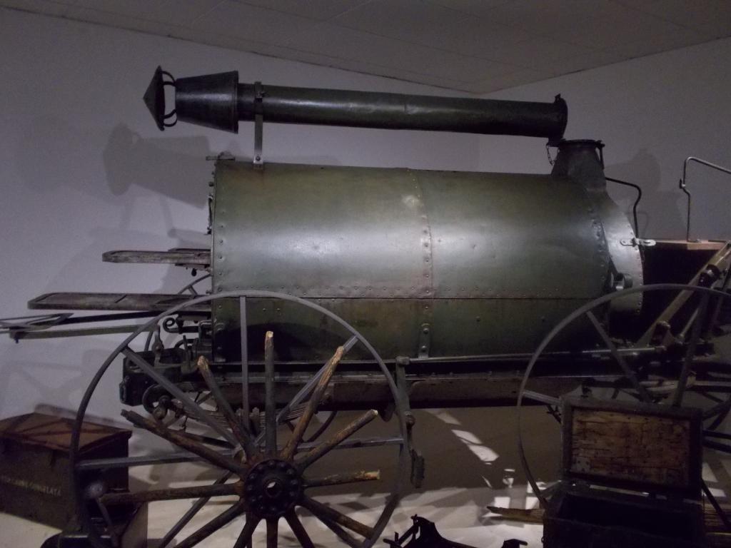 Museo della Guerra Bianca di Temù - Forno campale