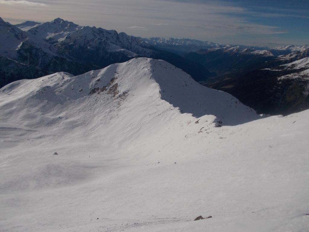 Cima Bleis vista dal Monte Tonale Occidentale