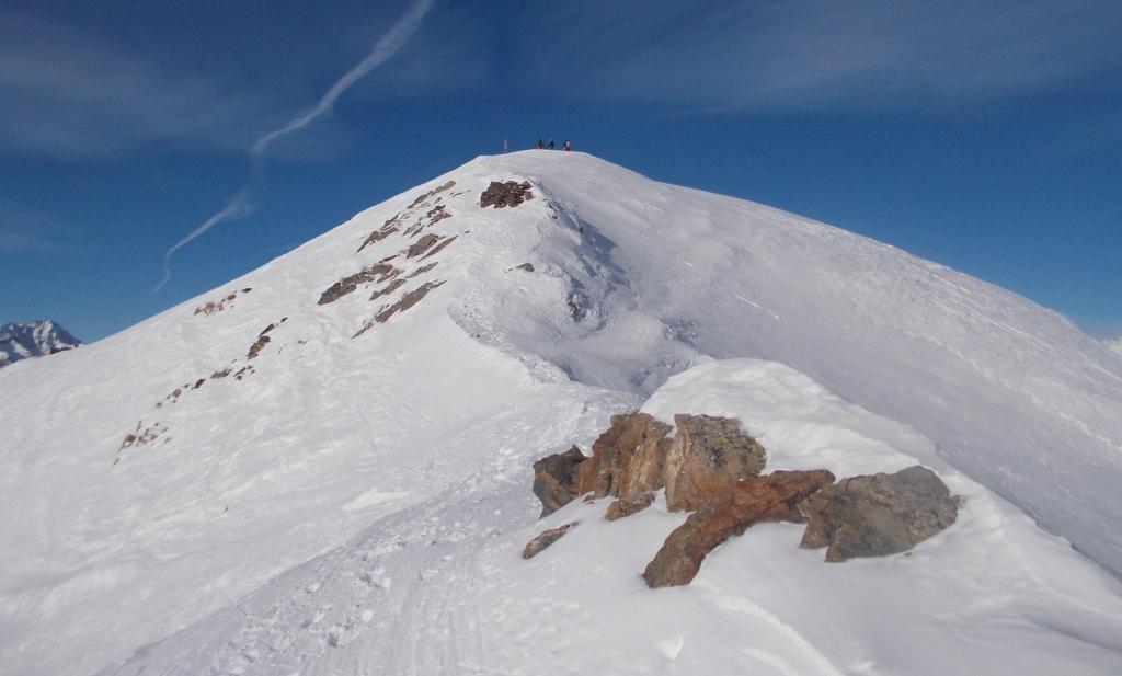 Bleis (Monte) dal Passo del Tonale 2015-01-03