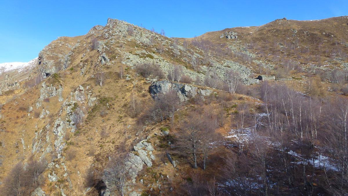 all'Alpe Arbilla 1640m