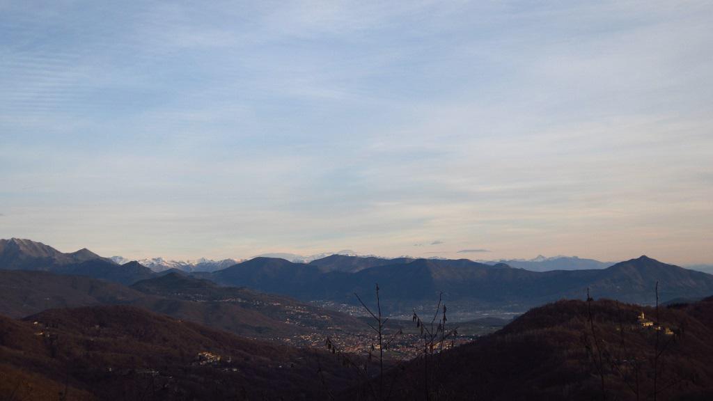 Panorama verso Giaveno...