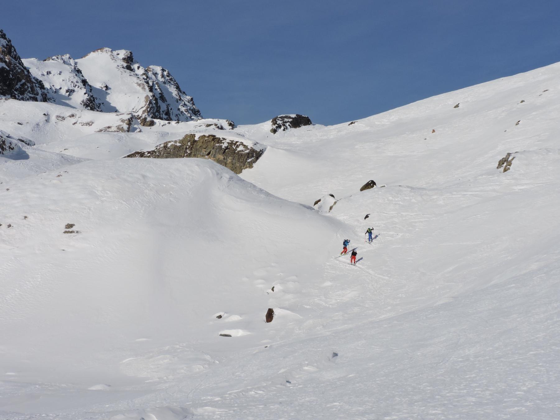 Madriccio (Cima), Madritschspitze dalla Val Martello 2015-01-03