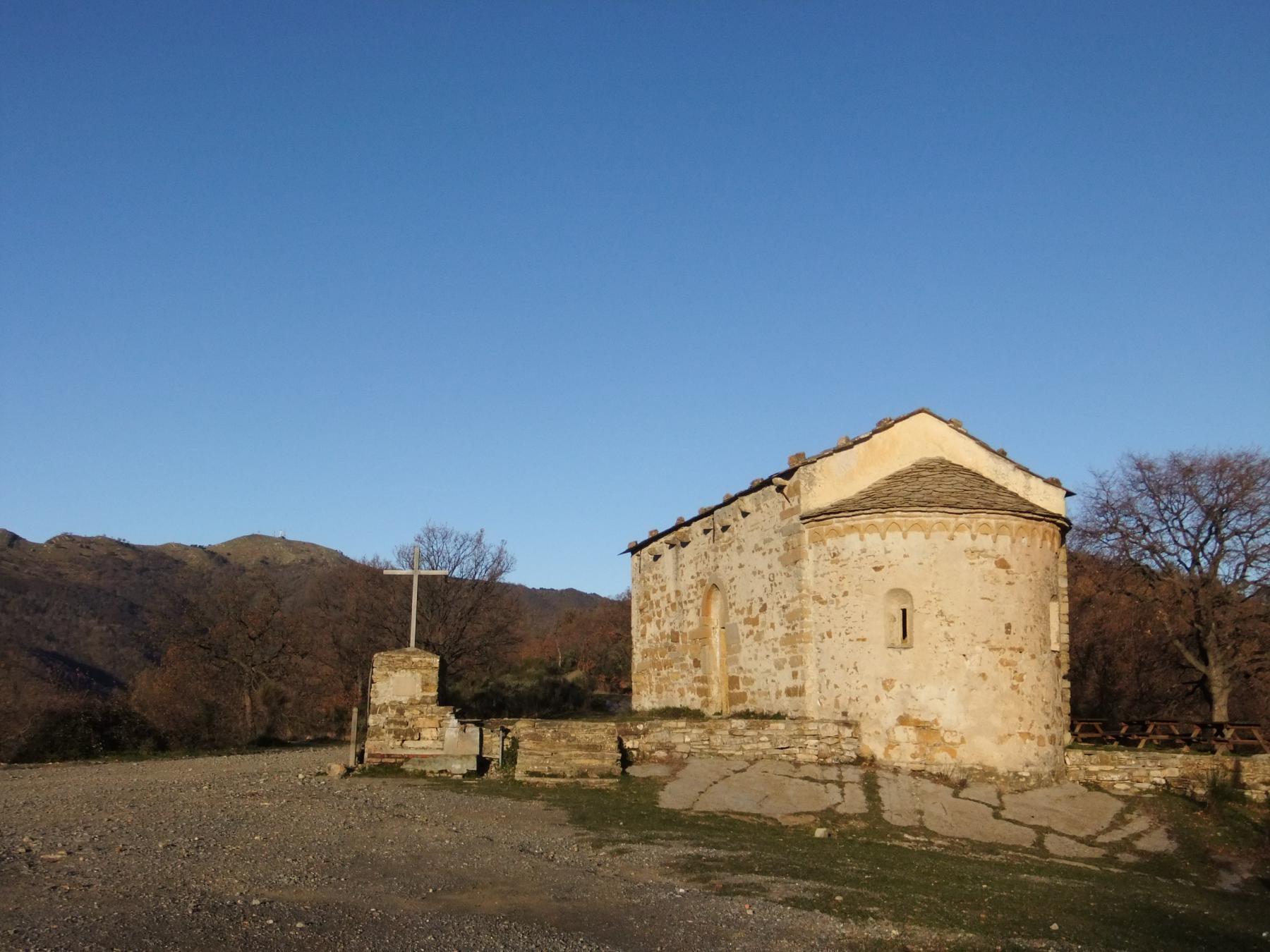 Santa Brigida con il Faudo sullo sfondo