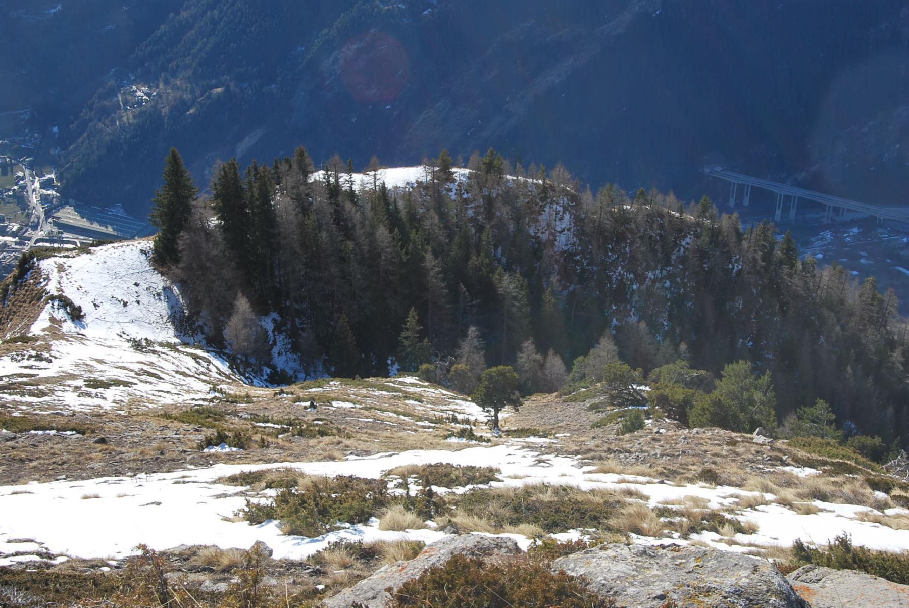 Lex (Mont de la) da Lavancher, anello 2015-01-05