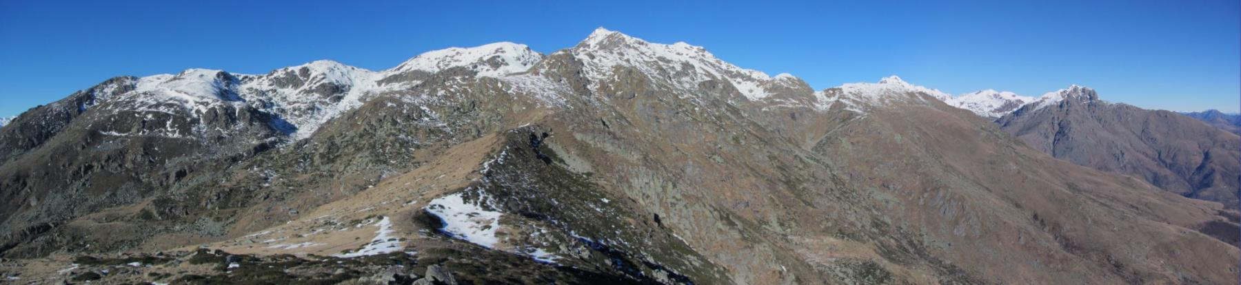 Panorama sulle Alpi Biellesi