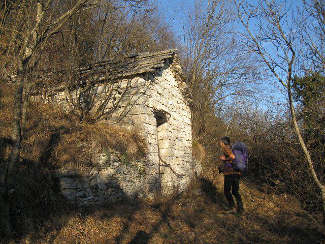 vecchia casera nei pressi del Pizzoc