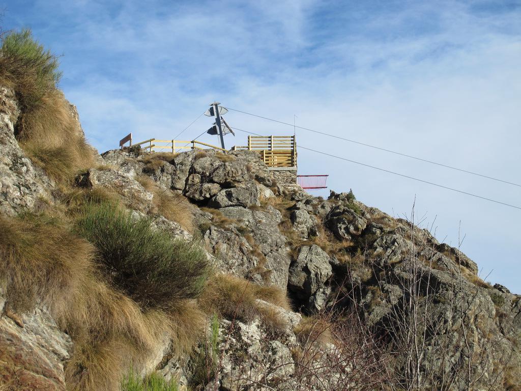 Arcansel, stazione di monte sopra Berchiotto