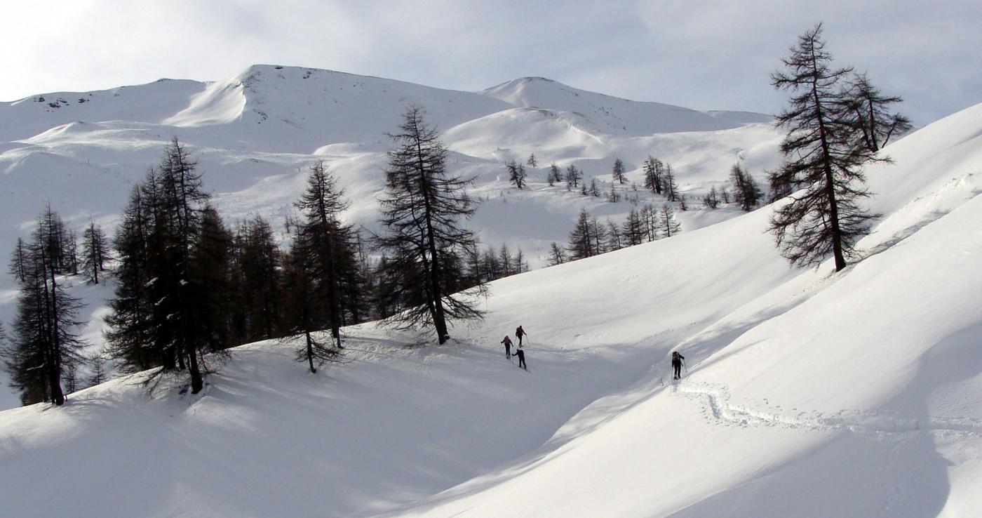 dipo l'alpeggio tutto da tracciare