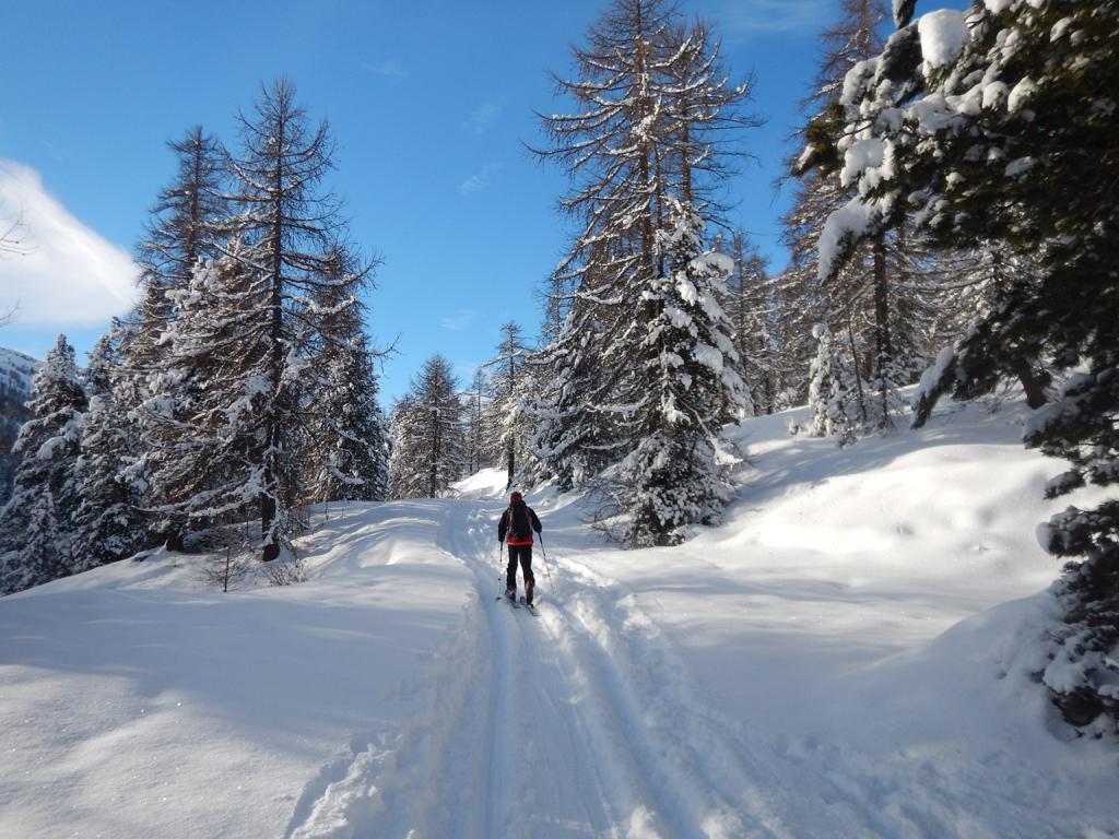 Ambiente invernale finalmente