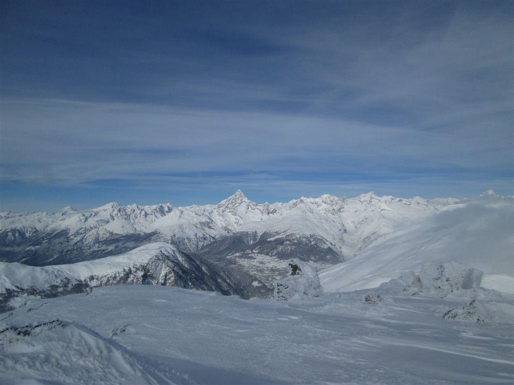 vista sul lato Svizzero