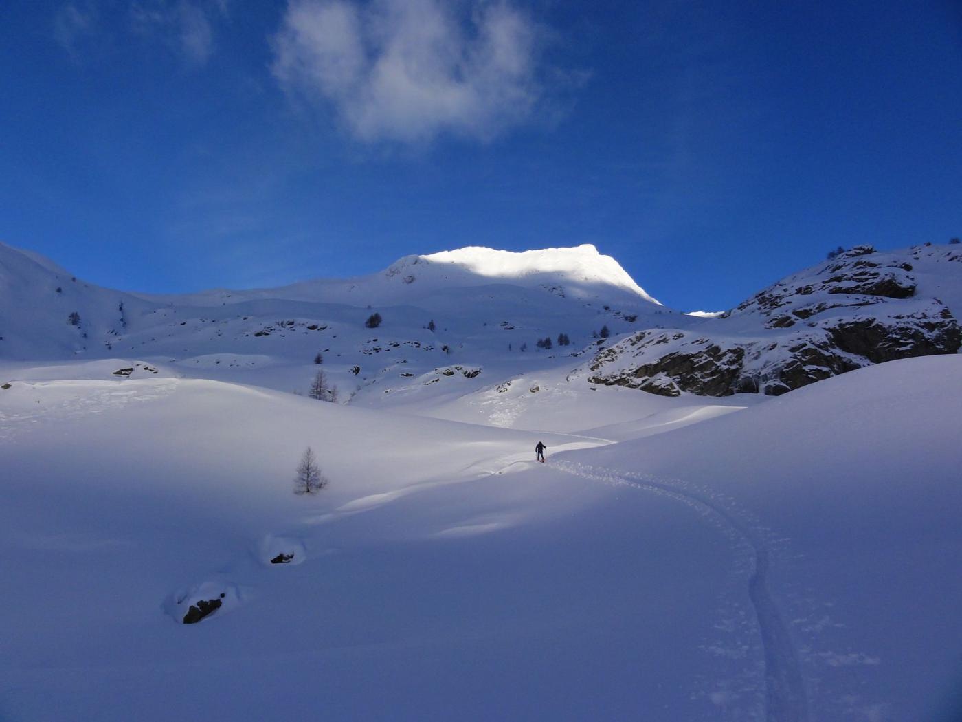 finalmente un paesaggio invernale