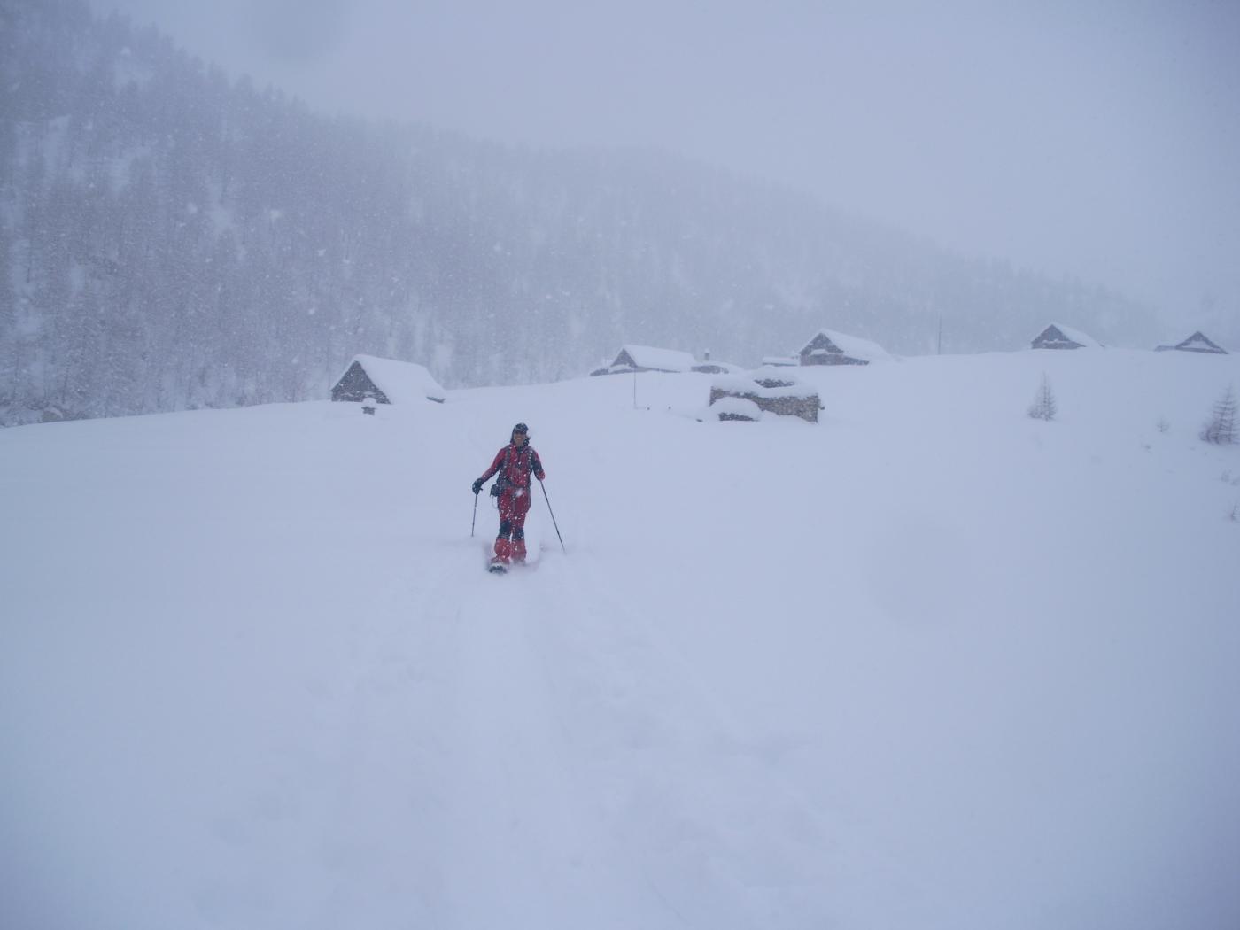 dall'Alpe Valle alle spalle..arrivare a valle c'e' ne' ancora..