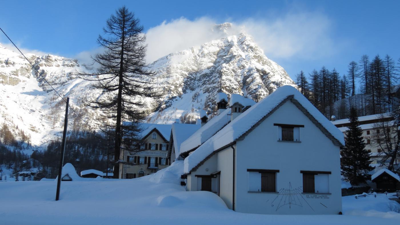come si presentava l'Alpe Devero alla partenza