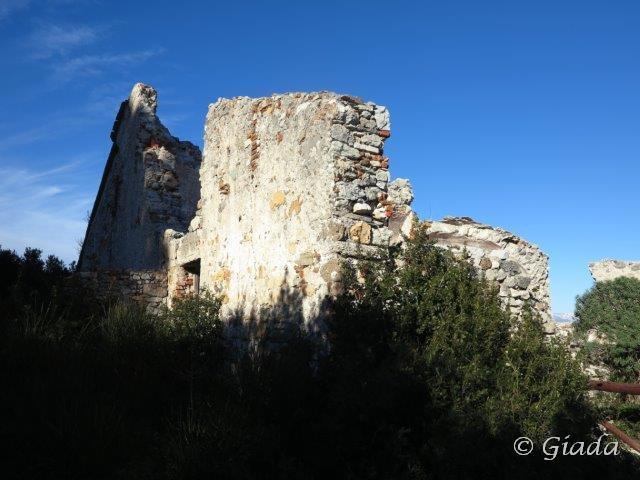 I resti della Chiesetta di Santa Margherita
