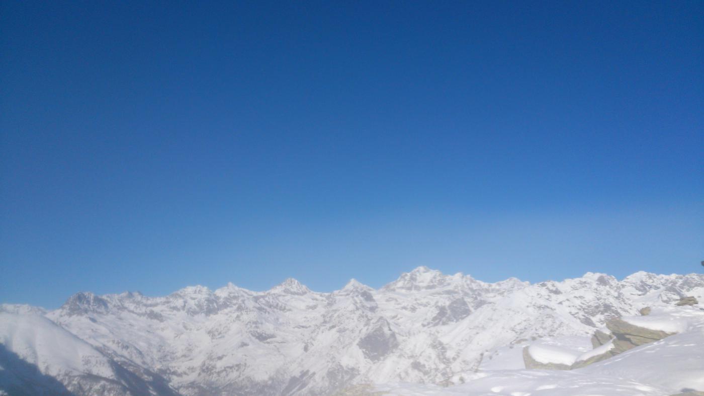 panorama sul granparadiso