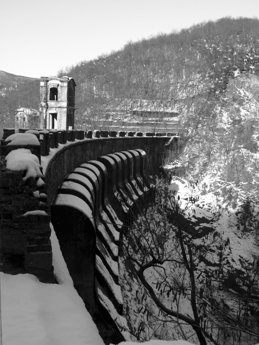 Coronamento della diga