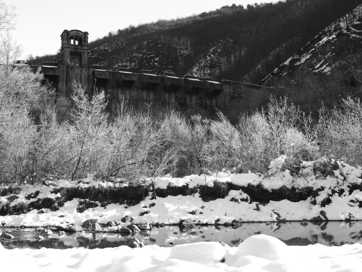 La diga dal Rio delle Brigne
