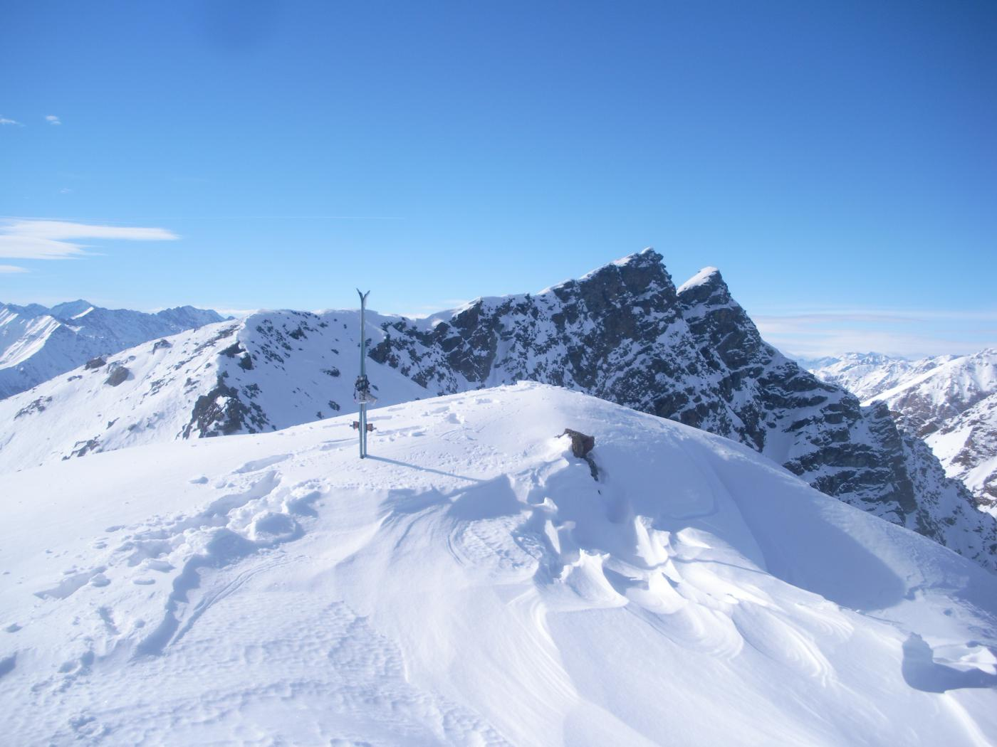 ancora il Rocciavre' dalla cima Coazze o Cassafrera..