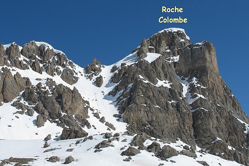 Roche Colombe - canale SE (foto Skitour)