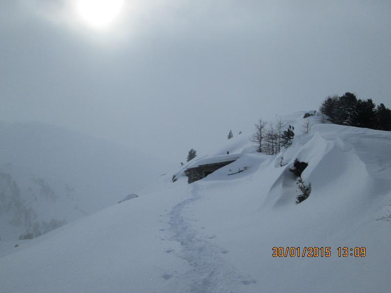 Begino (Colle) da Bousson 2015-01-30