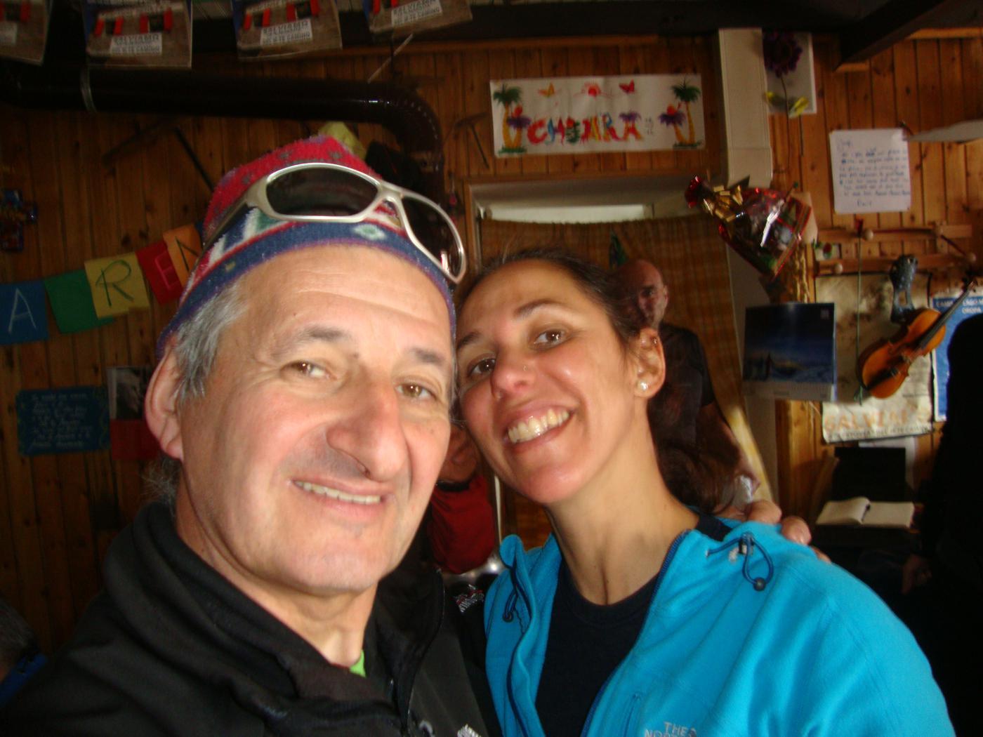 Selfie con Chiara