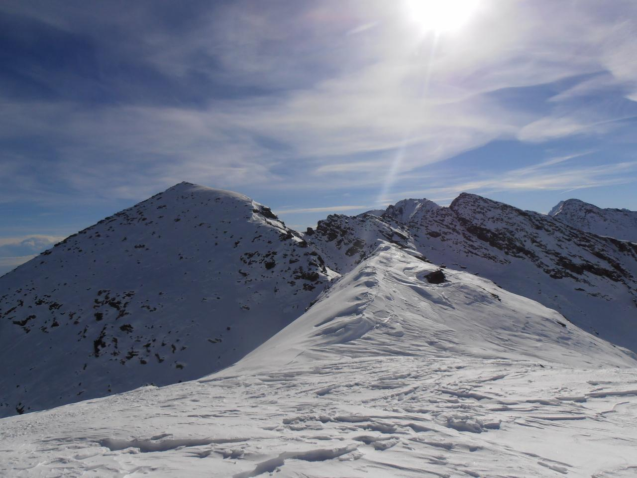 07 - in cresta a sud della cima