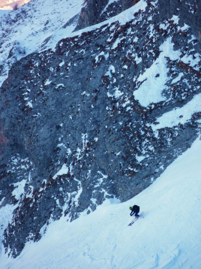 Ippopotami con neve buona nella parte alta