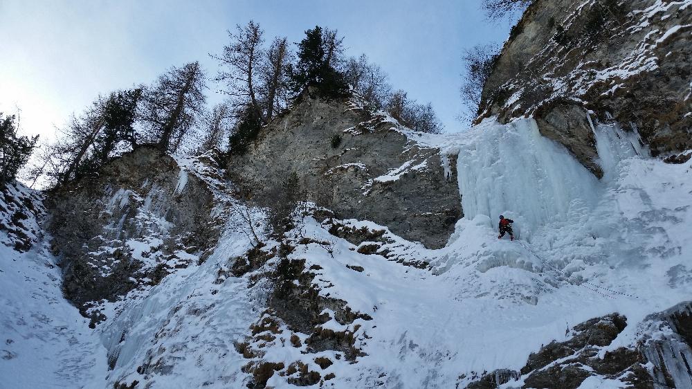 Pineta Nord Fiammetta - Ice (Cascata) 2015-01-31