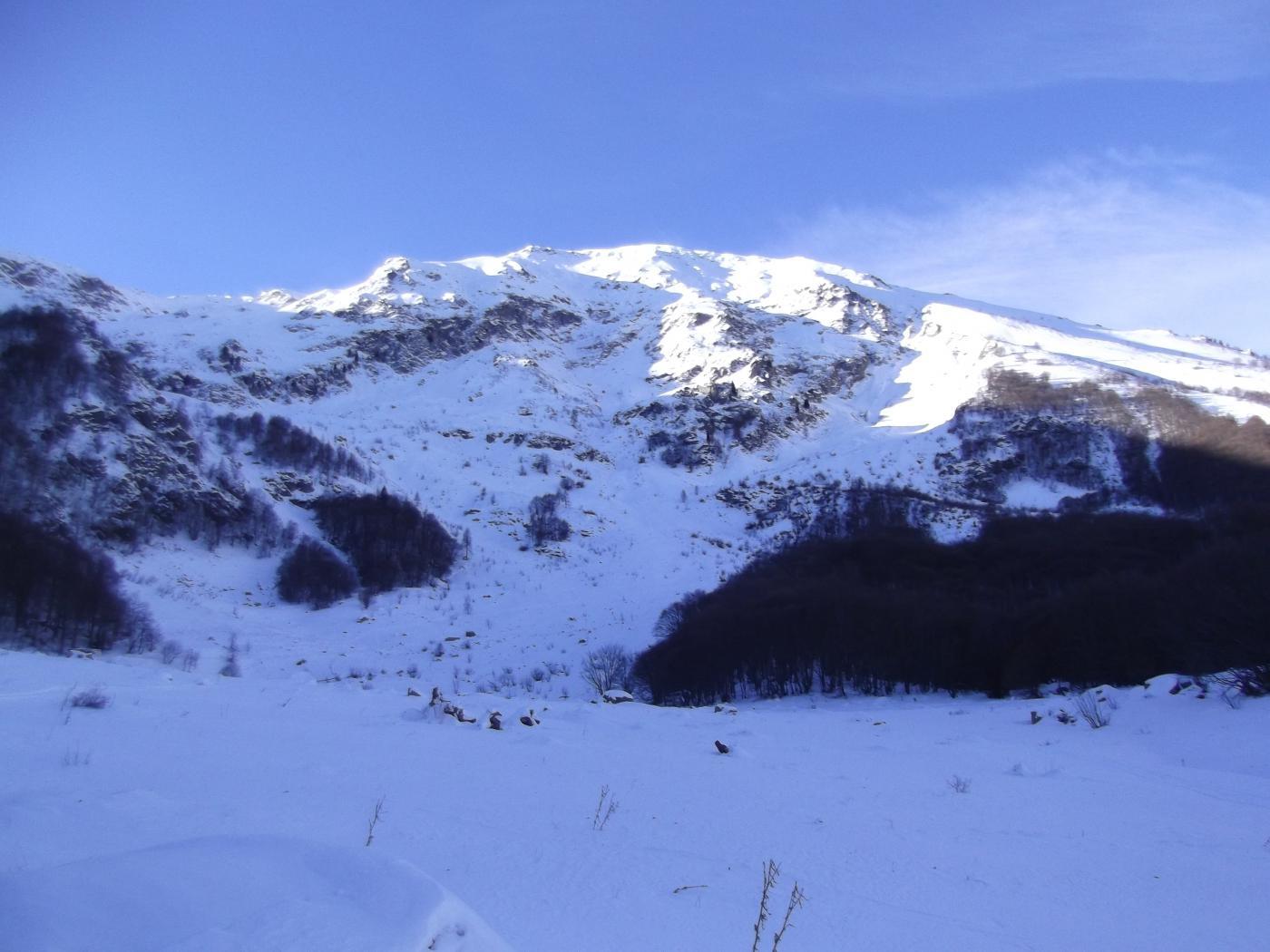 Monte Bourel dal Pra della Sala