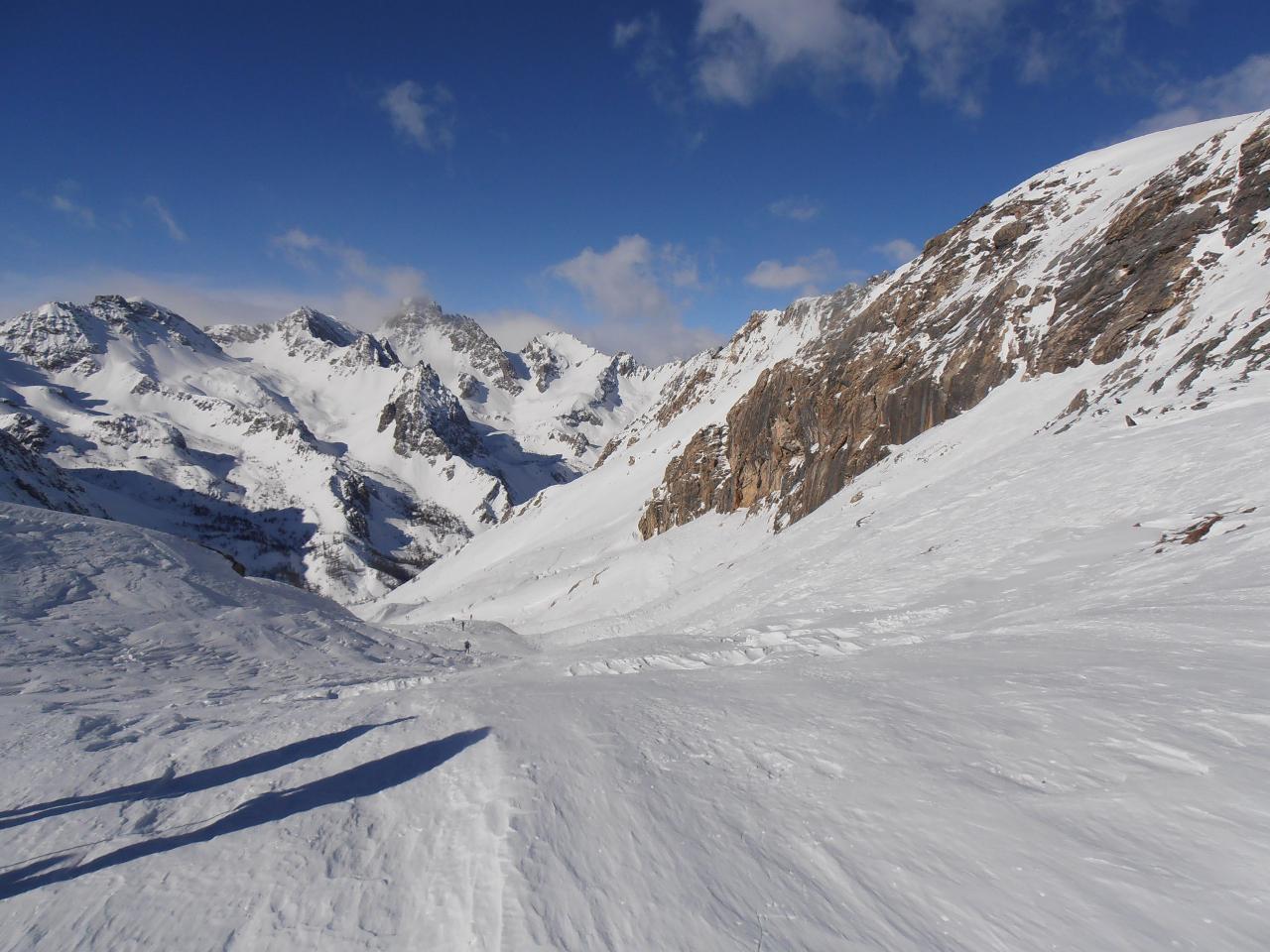 03 - il vallone risalito una volta giuni al Passo Gardetta