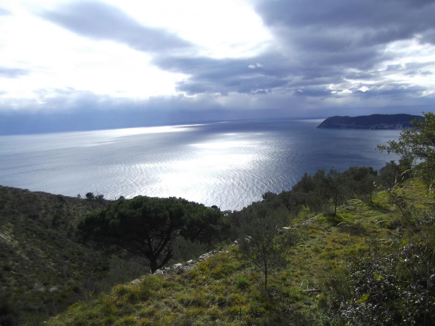 il mare dal Sentiero dell'Onda