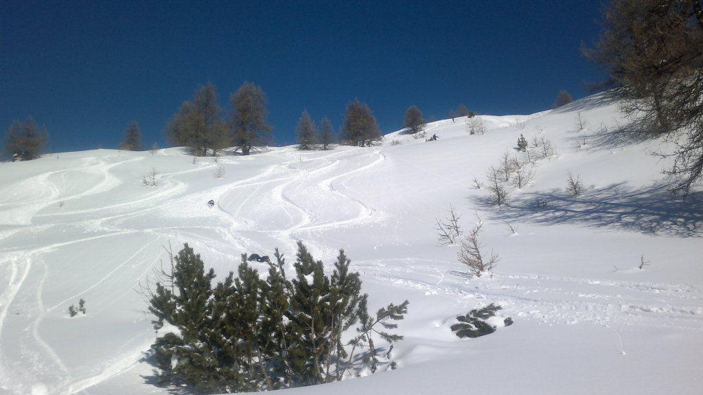 bella neve parte alta