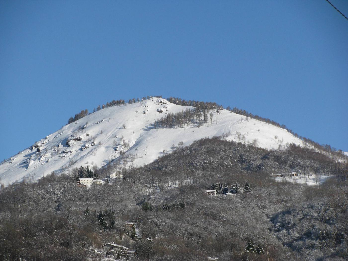Zoom sul Monte Calvo