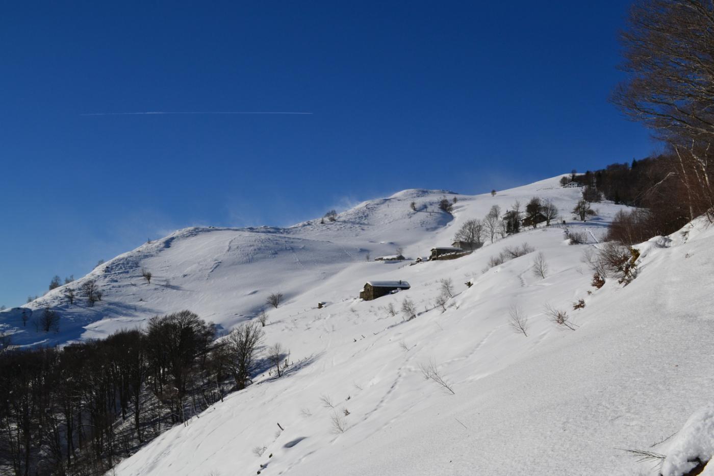la ben visibile Alpe di Naccio