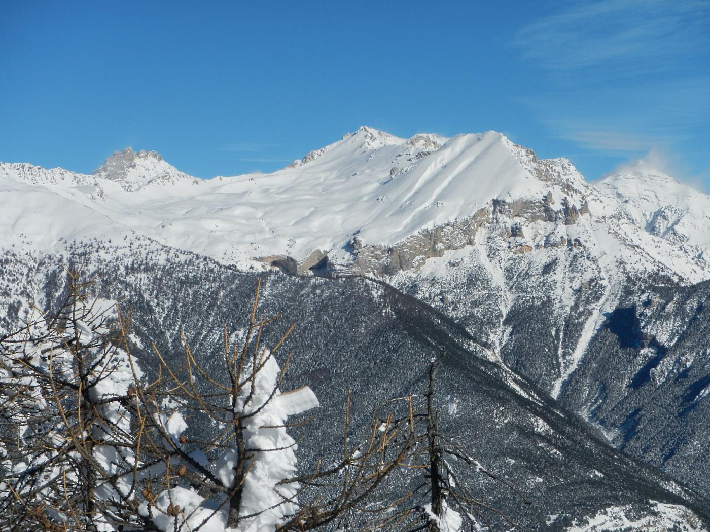 dalla cima: il Monte Seguret 2926 m.