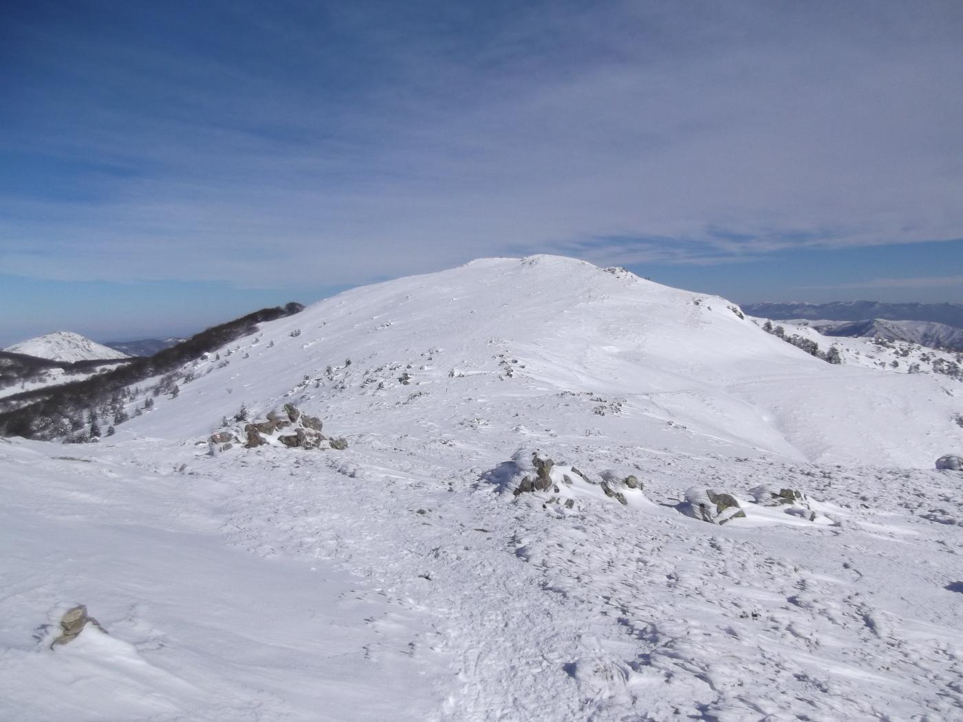 Reixa (Monte) Alta via dal Monte Beigua al Monte Reixa 2015-02-08