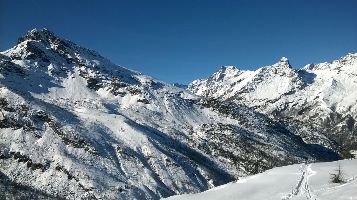 Verso Monte Rosso e Ciamarella
