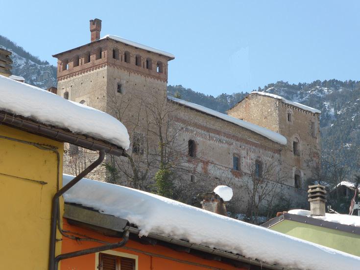 ...castello di Cartignano