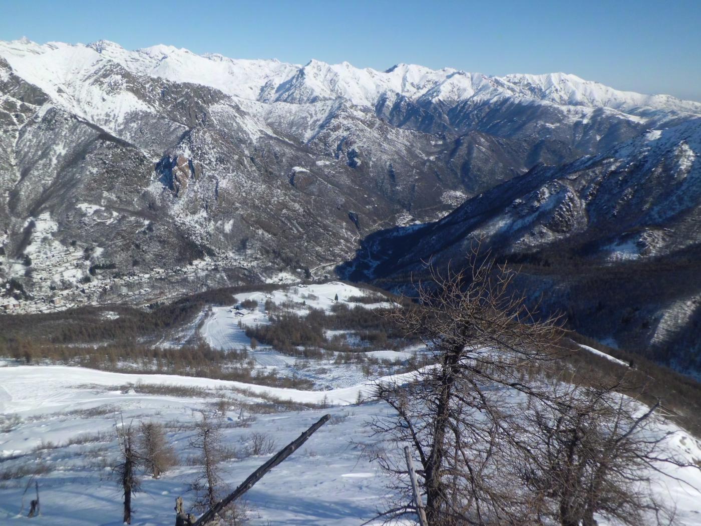 Lusignetto (Punta) da Ala di Stura 2015-02-11